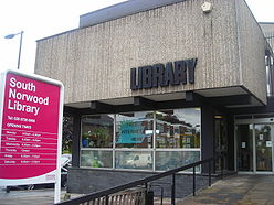 South Norwood library. someone needs to tell Steve Reed it is not under threat of closure. Just privatisation