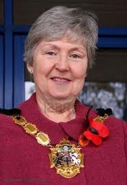 June Whitfield, as played by Margaret Mead, and soon to have another gong to wear around her neck