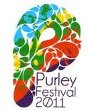 The logo from the first Purley Festival. There may not be any 2016 version
