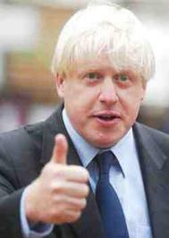 Boris Johnson: a subliminal message (by the London Mayor's standards) on Richard Ottaway's decision to retire as Croydon South MP?