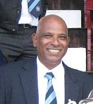 Croydon FC chairman Dickson Gill: confident despite set-back