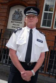 Borough Commander David Musker: move along please...