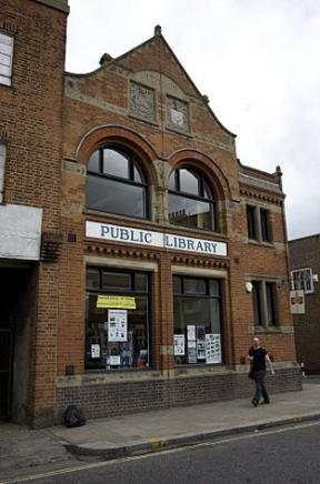 Upper Norwood Library: closed on Mondays and Fridays