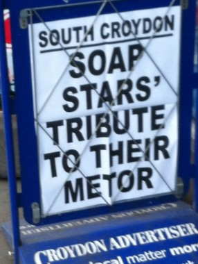 Eddy Arram's favourite local newspaper: Perhaps the Sadvertiser  is just going through a bad spell