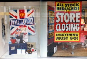 Croydon has had more plenty of closing down sales