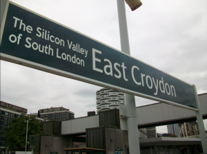 east croydon sign