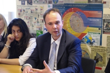 Gavin Barwell: needs to go back to school to work on his ability with numbers