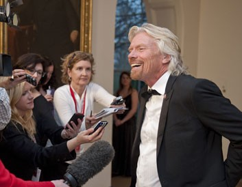 """So, """"Dr"""" Branson... pilot, train driver or medical professional - is there nothing that Sir Richard cannot do?"""