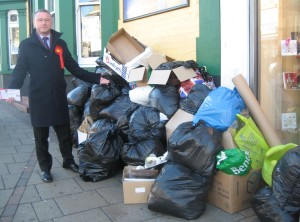 Steve Reed has been unimpressed by the state of Croydon's streets since being elected in November 2012