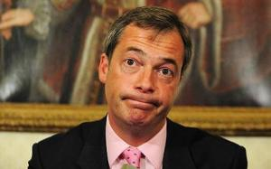 """UKIP leader, Nigel Farage: Unimpressed with his candidate's choice of language, but supports his """"Christian"""" message"""