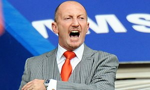 Mad world: Ian Holloway's abandoned hope of finding logic in the world of football