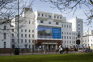 Under threat: St Helier Hospital in Sutton