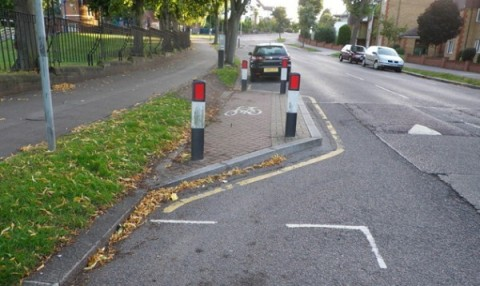 "The cycling ""infrastructure"" in Croydon makes the borough a laughing stock among the country's cyclists"