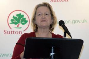Sutton council leader Ruth Dombey: delighted with Stonecot result