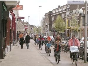 Cycling is up to 10 times safer in Amsterdam than in London - safe enough to encourage cycling from a young age