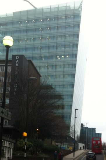 Croydon Council's new headquarters building, built at a cost of at least £140m, has a leak in the roof