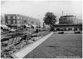 Thornton Heath, from a time when the pond still existed, and had not been filled in to make for yet another roundabout
