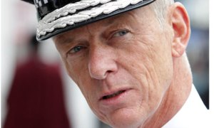 Bernard Hogan-Howe, commissioner of the Met Police, whose task is to implement Boris's budget cuts