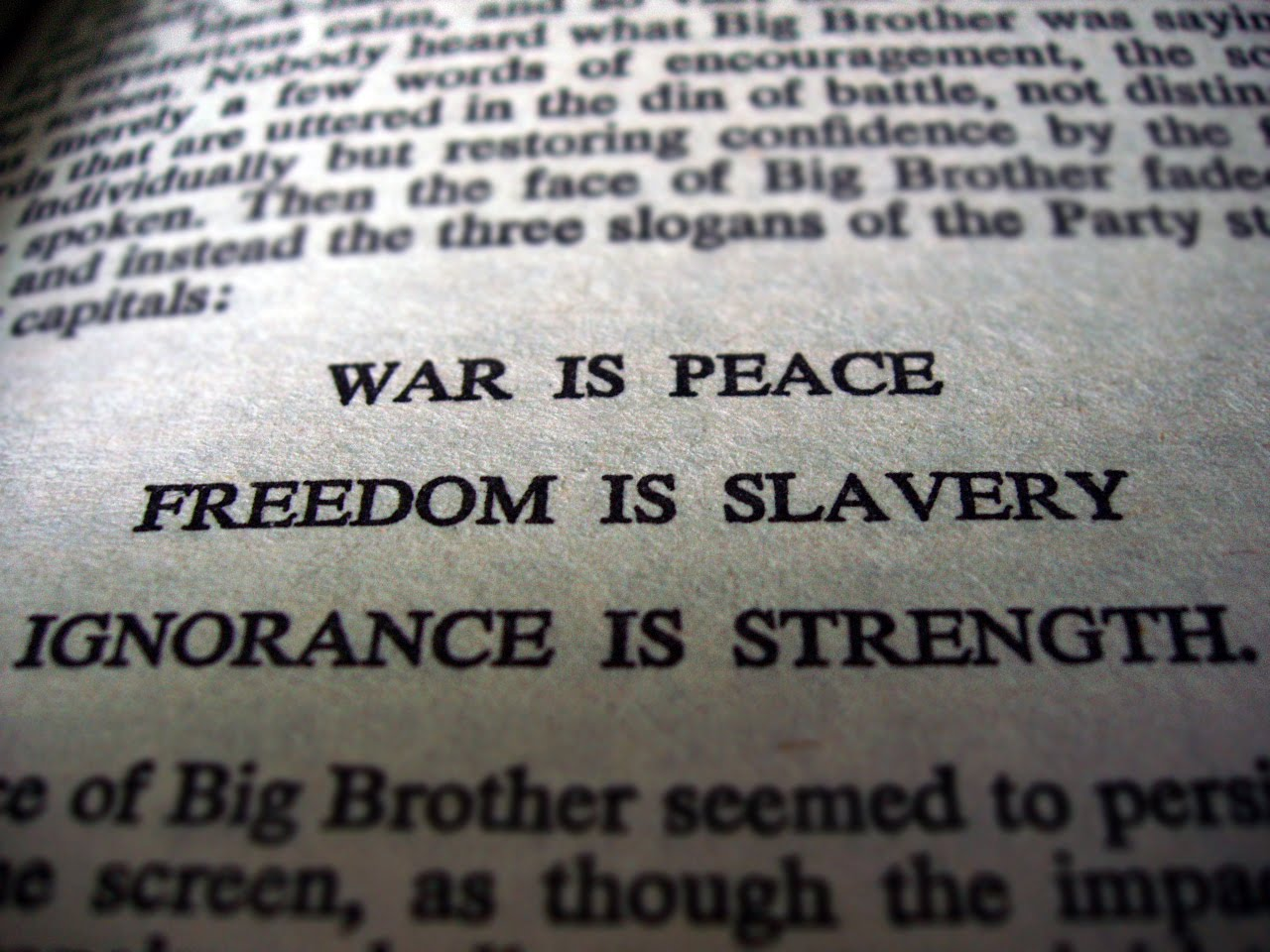 Orwell The Ministry Of Truth And Knowledge Dystopia In Control