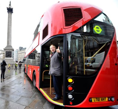 The Boris bus: not as efficient or eco-friendly as Arnhem's trolley buses