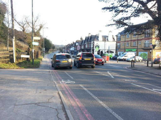 Austen Cooper's picture of Godstone Road, taken on Sunday