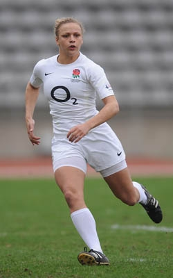 Kay Wilson: another former Warlingham player now established in the England team