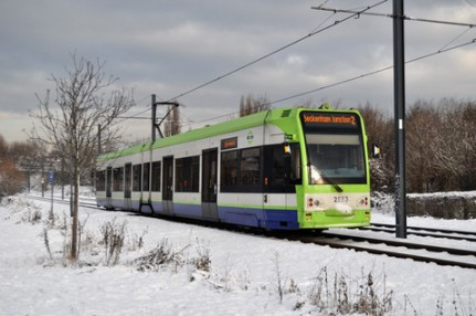 Croydon's trams: An example of good public transport