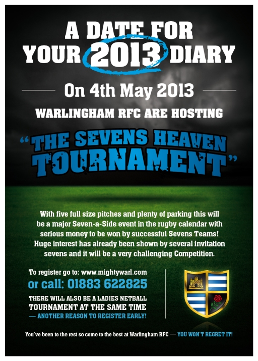 Warlingham Sevens Heaven flyer