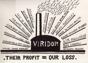 Viridor cartoon by Gordon Ross