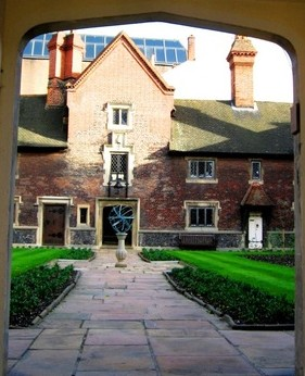 A rare opportunity for a glimpse inside the Whitgift almshouses