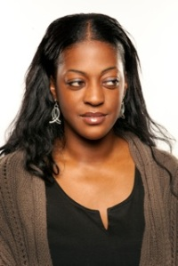 Having a laugh in Croydon: Ava Vidal
