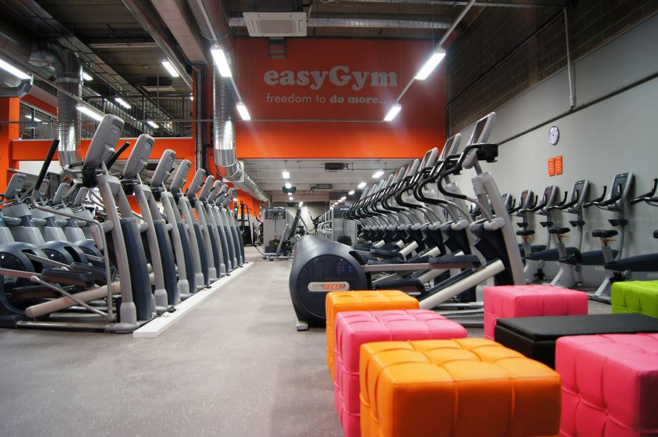 gym opens offering easy rates for exercise inside. Black Bedroom Furniture Sets. Home Design Ideas