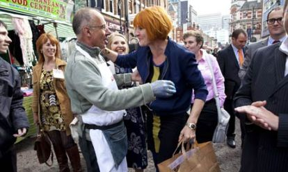 """Mary Portas """"Queen of the High Street"""", visiting Croydon: not much has been seen of her since, nor any real impact of the Pilot"""