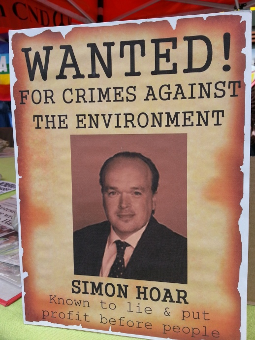 Wanted - Simon Hoar