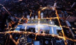 One of Westfield's imagined views of how the new mall might look: much of this area will be closed off for building works for three years