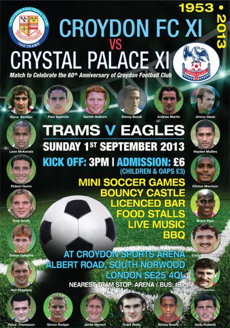 Croydon FC poster