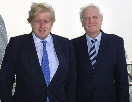 Billion-pound backing: Edward Lister, right, was left to do the Mayor's bidding while Boris Johnson went off on holiday