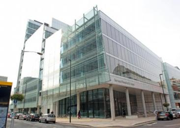 Nice work if you can get it: Croydon Council's new offices. Built by Alfred McAlpine, under contract from John Laing, whose subsidiary JLIS has just been sold to Carillion, who own McAlpines...