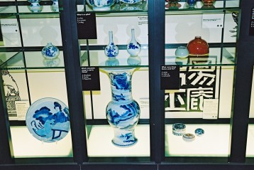Not to be missed: some pieces from the Riesco Collection on display in the Museum of Croydon