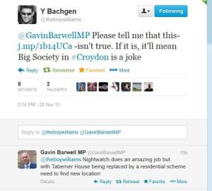 Barwell tweet
