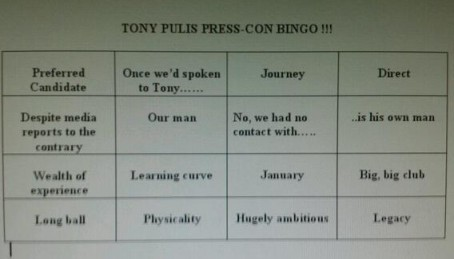 Within minutes of Pulis's appointment as Palace manager was confirmed, wags were circulating this on social media