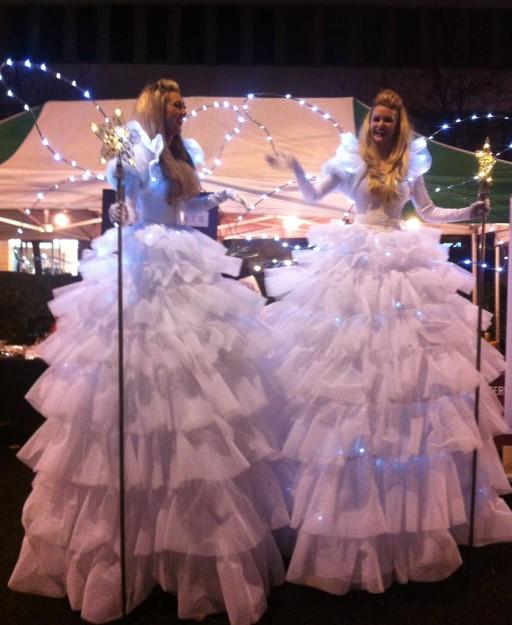 There was little seasonal light and brightness at Croydon's celebration tonight