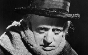 """The epitome of Tory """"values"""": Alastair Sim as Scrooge"""