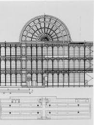 The Crystal Palace, in Victorian design drawings