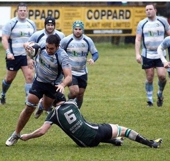 Warlingham take the attack to Heathfield in wet and muddy conditions last Saturday