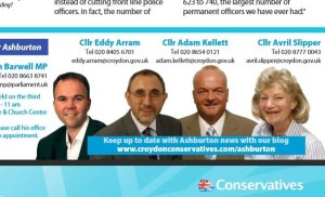 """The Tory """"action team"""" in Ashburton, as it looked in November last year"""