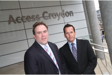 "Is ""Access Croydon"" a euphemism? Councillor Jason Perry and Croydon's interim CEO, Nathan Elvery, don't seem to have bothered following the council's code of conduct"