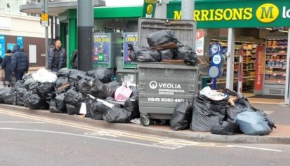 According to the Conservatives in charge of Croydon Council, there's no problem with fly tipping in the borough. In the past year, the council made a grand total of zero prosecutions for fly tipping