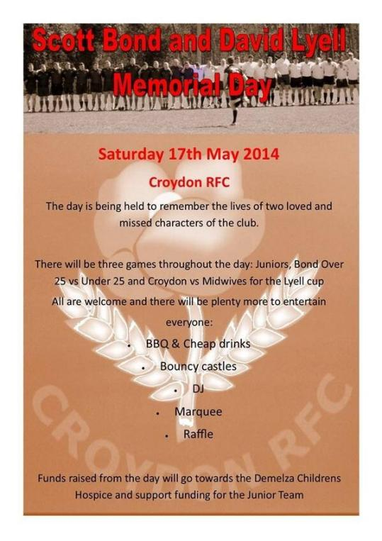 Croydon RFC charity day