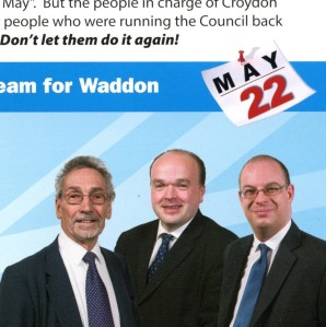 The all-male Tory team in Waddon